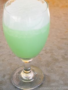 Lucky Leprechaun Elixir (Key Lime Float)