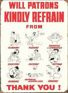 #Swimming pool #rules. #graphics. #sign #signage