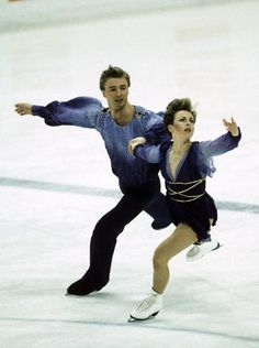 Figure skaters Jayne Torvill and Christopher Dean return to Sarajevo to recreate gold medal-winning performance 30 years after winning at the 1984 Winter Olympics. 1984 Winter Olympics, 1984 Olympics, Winter Olympic Games, Winter Games, Jayne Torvill, Karen Barber, Ice Skaters, Ice Dance, Sports Stars