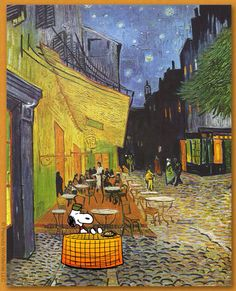 Snoopy Van Gogh
