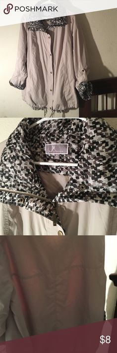 JM collection windbreaker No flaws Jackets & Coats