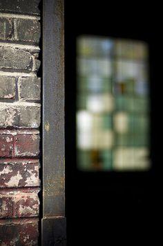 Window by Jessica Berlin Window Photography, Berlin Art, Windows And Doors, Brick, Doodles, Wall Art, Glass, Drinkware, Corning Glass