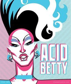 Acid Betty by Chad Sell