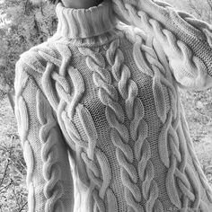 Cool Sweaters, Baby Sweaters, Crochet Cardigan, Garter Stitch, Fall Trends, Knitting Patterns Free, Cable Knit, Knitwear, Winter Fashion