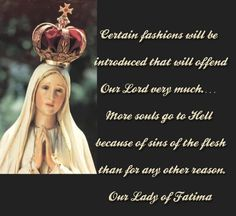 MARYLIKE MODESTY - Crusaders of the Immaculate Heart