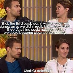 Can I exchange the ending of Allegiant for dolphins? PLEASE I CANT HANDLE THE FEELS