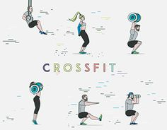 """Check out new work on my @Behance portfolio: """"CrossFit GIFS"""" http://be.net/gallery/44324263/CrossFit-GIFS"""