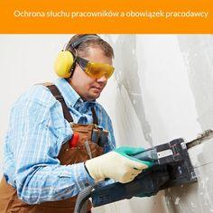 Jeżeli hałas w miejscu pracy przekracza 82dB pracodawca ma obowiązek zapewnić ochronę słuchu pracowników
