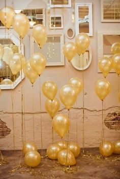 gold party decorations - Google Search