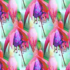 Royal fuchsia fabric by vib on Spoonflower - custom fabric
