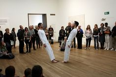 Trisha Brown - Leaning Duets II (Tate Modern, London, 2010)