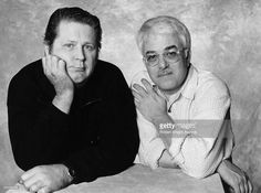 Photo of Brian WILSON and Van Dyke PARKS; with Brian Wilson