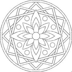 mandala -- I see this with Celtic knotwork, of course :)
