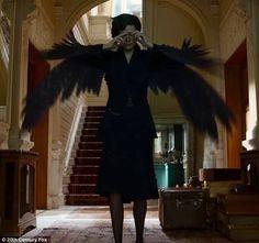 Big bird:Eva Green transforms into bird in the debut trailer for Miss Peregrine's Home Fo...