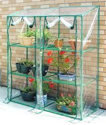Invernadero caseta de tubo acero y plastico jardin terraza - Invernadero casero terraza ...