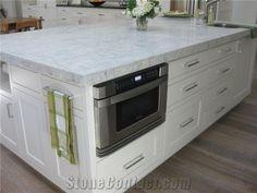 Super White Quartzite, White Granite, White Quartzite Countertops, Bathroom Countertops, New Kitchen Inspiration, Kitchen Ideas, Home Reno, Stone Tiles, Interior Walls