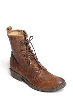 Frye 'Carson' Lace-Up Bootie available at #Nordstrom (Shoes just don't get any funkier than this! jhughes2020)
