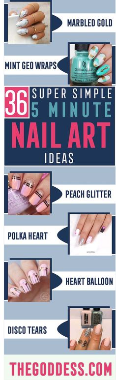 Take a look at these quick and easy nail art ideas. These work great for summer, for spring or for fall, with classy acrylic and gel styles too! New Nail Designs, White Nail Designs, Nail Designs Spring, Summer Acrylic Nails, Spring Nails, Nail Art Diy, Easy Nail Art, Classy Almond Nails, Almond Nails Designs Summer