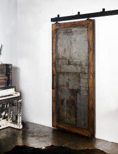 metal, reclaimed wood, barn doors and hardware