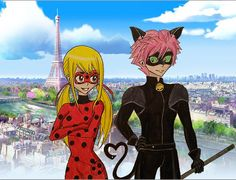 Miraculous Fairy Tail by Nalulover98.deviantart.com on @DeviantArt
