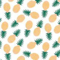 COUPON Jersey Ananas 1m x 140 cm
