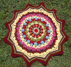 I Can Read Charts CAL - Tutorial: Mandala Maggie Bullock - Free Pattern