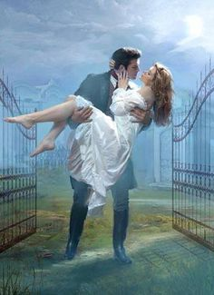 Image in Fall in Love Like a Romance Novel collection by Victoria Romance Arte, Fantasy Romance, Romance Novel Covers, Romance Novels, Art Romantique, Romantic Paintings, Romantic Pictures, Vintage Pictures, Historical Romance Books