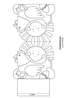 Sliepka - veľkonočné aktivity pre deti Infant Activities, Educational Activities, Craft Activities, Easter Art, Easter Crafts, Colouring Pages, Coloring Sheets, Bee Crafts For Kids, Christmas Tree Cards
