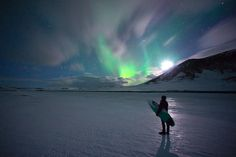 arctic surf photography by chris burkard