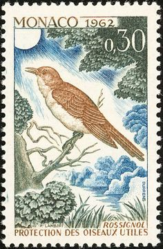 Common Nightingale stamps - mainly images - gallery format