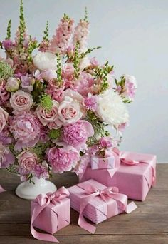 New Flowers Gift Bouquet Floral Arrangements Mothers 39 Ideas Amazing Flowers, Pink Flowers, Beautiful Flowers, Pink Lace, Shabby Flowers, Bouquet Flowers, Pink Peonies, Fresh Flowers, Frühling Wallpaper