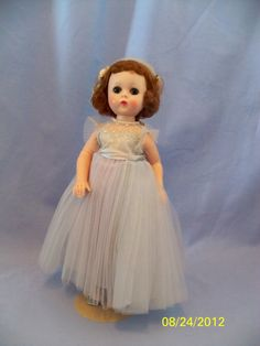 Madame Alexander Lissy Bridesmaid in blue by Lizsdollhouse on Etsy