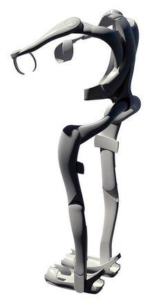 exoskeleton | Exoskeleton Reads Muscles