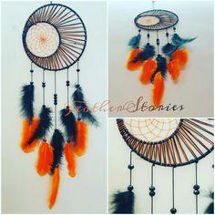 crescent moon dreamcatcher ❣ double ring dreamcatcher 😍 #featherstories #instagram