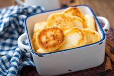 Slasne i hrskave: Polpete od svježeg sira Minion, Cornbread, Mashed Potatoes, Macaroni And Cheese, Good Food, Dairy, Low Carb, Gluten, Breakfast