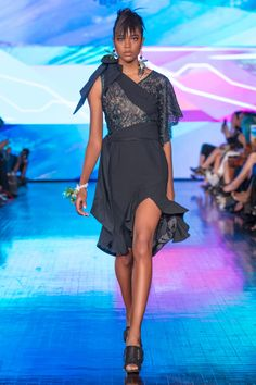 Rinda Salmun RTW Spring 2018 Spring Summer 2018, Spring Summer Fashion, Show Reviews, Dark Colors, Fashion News, Peplum Dress, Collection, Black, Dresses