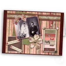 Wedding / Aniv tarjeta