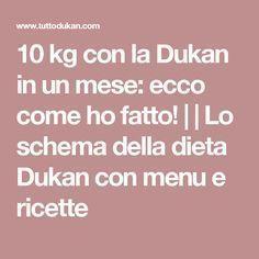 10 kg con la Dukan in un mese: ecco come ho fatto! | | Lo schema della dieta Dukan con menu e ricette My Favorite Food, Favorite Recipes, My Favorite Things, Menu, Fitness, Health, Kendall, Kylie, Sport