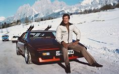 Lotus Esprit with James Moore. #007