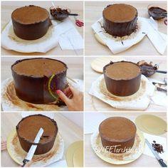 Cake Truffles, Chocolate Truffles, Chocolate Cake, Super Cook, Baking Recipes, Cake Recipes, Sweet Cakes, No Bake Cake, How To Make Cake