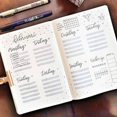 10 Bullet Journal weekly layout to try - - Brenda O. 10 Bullet Journal weekly layout to try – – Bullet Journal Inspo, Bullet Journal School, Bullet Journal Agenda, Bullet Journal Weekly Layout, Self Care Bullet Journal, January Bullet Journal, Bullet Journal Spread, Bullet Journal Ideas Pages, Bullet Journals