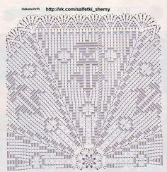 Crochet Doily Diagram, Crochet Motifs, Crochet Doilies, Doily Patterns, Mandala Pattern, Crochet Patterns, Fillet Crochet, Holiday Crochet, Crochet Tablecloth
