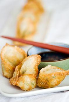 fried shrimp wontons recipe | use real butter