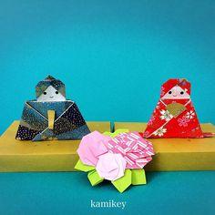 """折り紙ワークショップ@札幌 2月も開催します。今回は雛飾りを作りますよ。※このお雛様は動画未公開作品です 詳しくはブログをご覧ください。「アメブロ カミキィ」で検索すると見つかると思います。  「シンプルなひな台」と「八重桜」の作り方動画はプロフィールにリンクがあるYouTube""""のkamikey origami """"チャンネルでご覧ください ✳︎ Hina Dolls (no tutorial ) Simple tray Double cherry blossoms  Designed by me  tutorial on YouTube"""" kamikey origami""""  #折り紙#origami #ハンドメイド#kamikey Crafts For Kids, Diy Crafts, Paper Dolls, Origami, Seasons, Photo And Video, Christmas Ornaments, Holiday Decor, Instagram Posts"""
