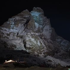 Cervino illuminato 06.01.2015