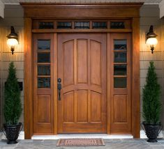 Image result for craftsman style exterior doors