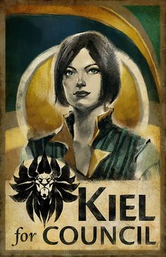 Guild Wars 2 artwork.  KielForCouncil  Print by ArenaNet,