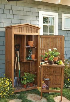 How to build a 10 x 10 gambrel storage shed how much to build a concrete shed base,diy shed plans cost small garden shed shed lowes how to build a shed with pallets. Garden Tools, Shed Design, Shed Plans, Building A Deck, Small Sheds, Building A Shed, Shed Storage, Garden Storage, Garden Tool Storage