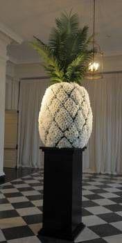 Big floral Pineapple