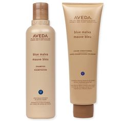 Aveda Blue Malva Shampoo and Conditioner - The Right Products for Your Hair Color - Best for Blond Hair